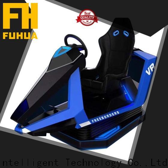 Fuhua arcade racing car simulator for market