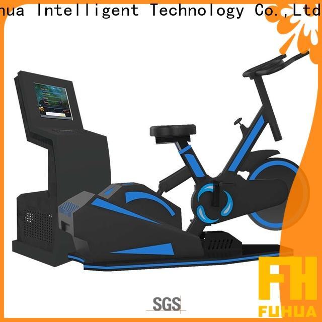 Fuhua simulator vr bike dynamic control for family