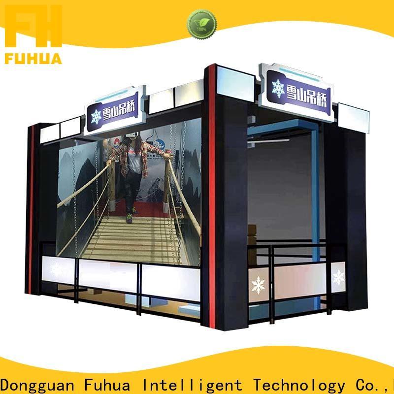 Fuhua suspension vr bridge simulator Realistic Effect for theme parks