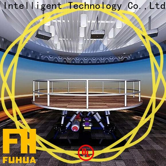 popular earthquake simulator machine fuhua manufacture for commercial amusement