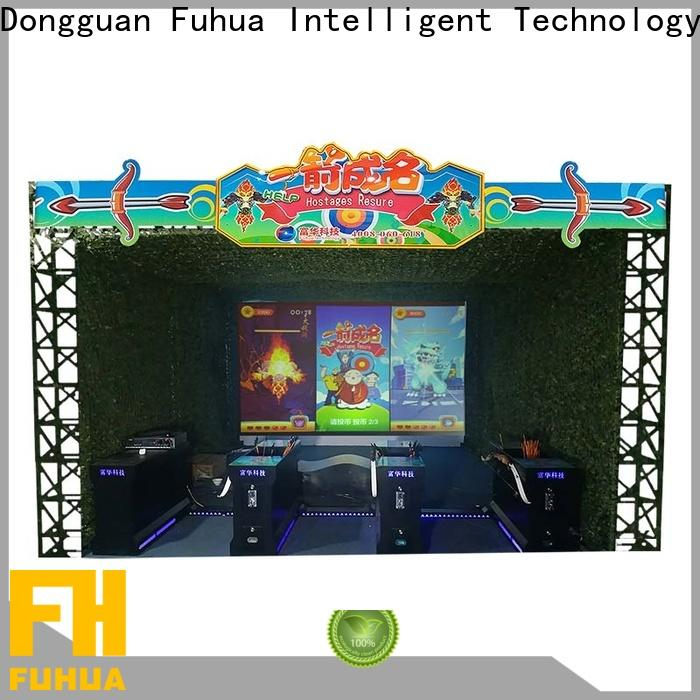 Fuhua popular vr rowing for fitness game center