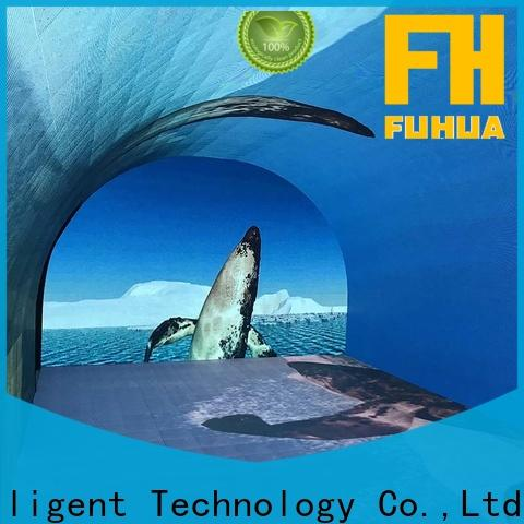 Fuhua wall curved projection screen for sale for museum