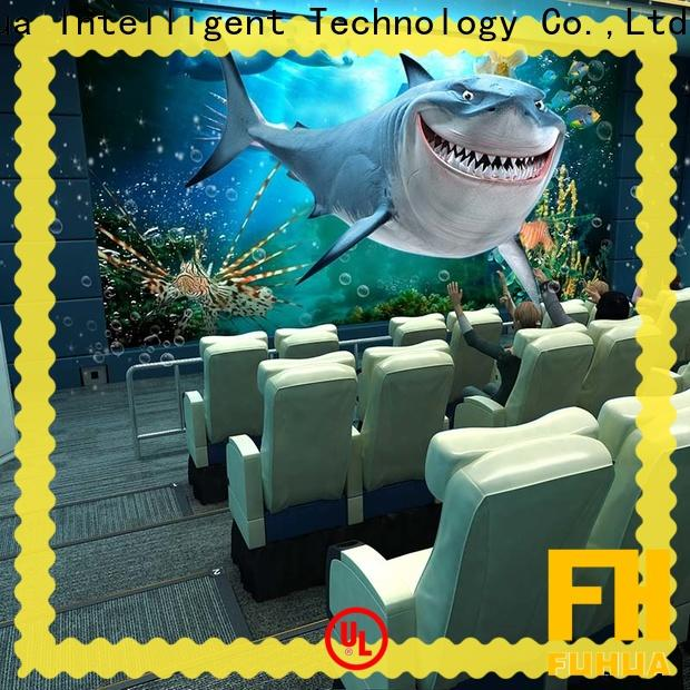 Fuhua commercial 4d 5d cinema for adults for theme park