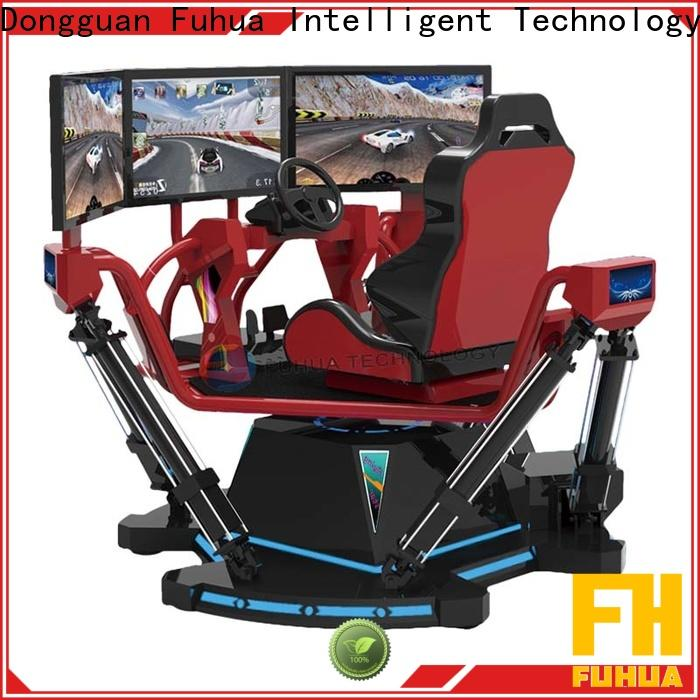 high performance car racing game simulator screen engines for theme park