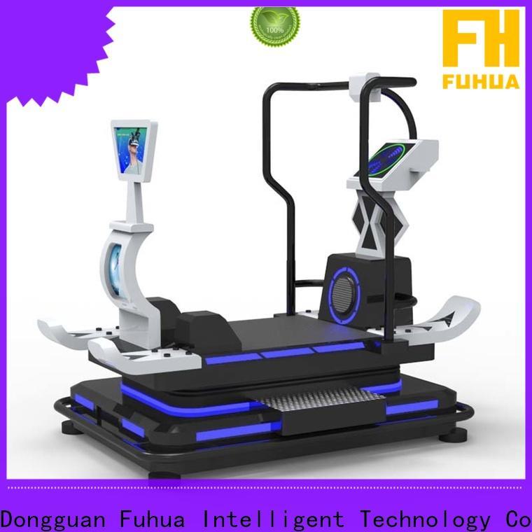 Fuhua hero vr treadmill for sale for school