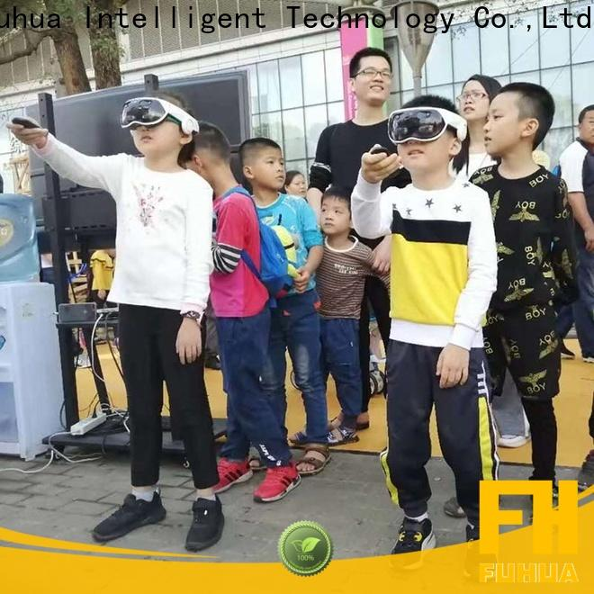 Fuhua newest mixed reality games different experience for family entertainment center