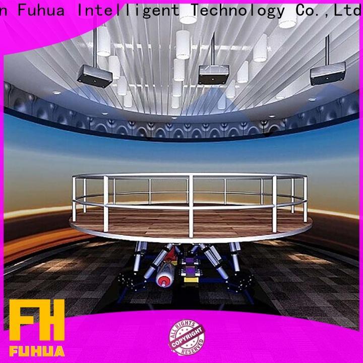 Fuhua automatic earthquake simulator manufacture for scenic area