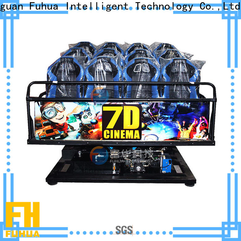 Attractive cinema 7d motion display system for clubs
