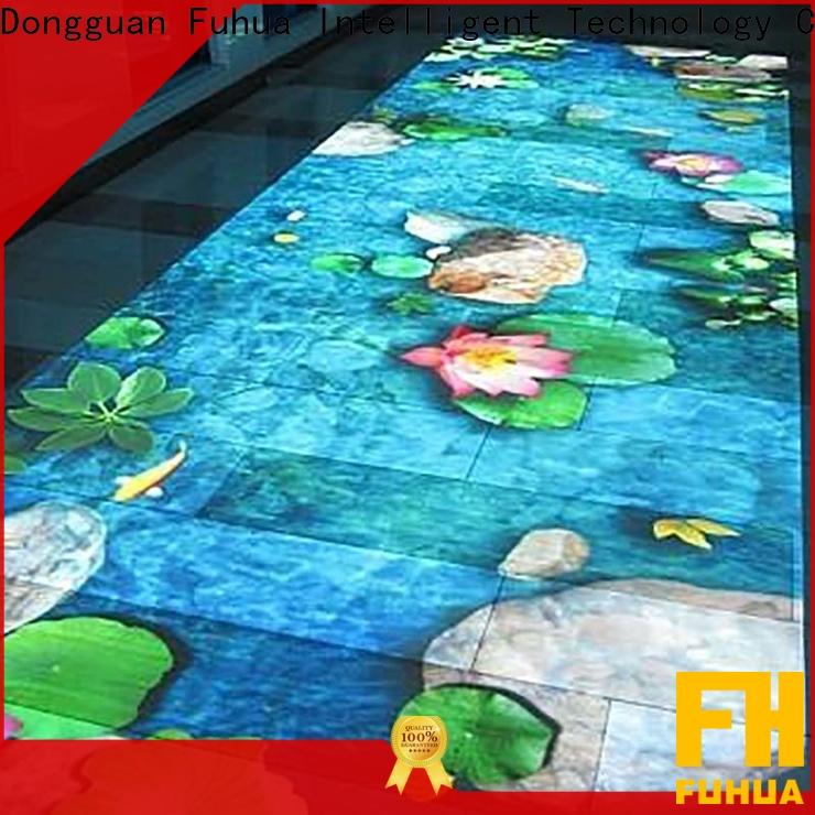 Attractive 3d holographic projection floor Enhance confidence for party