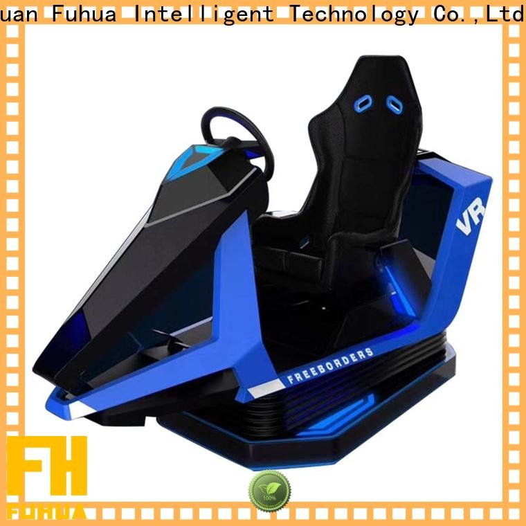 Fuhua international car racing simulator dynamic control technology for cinema