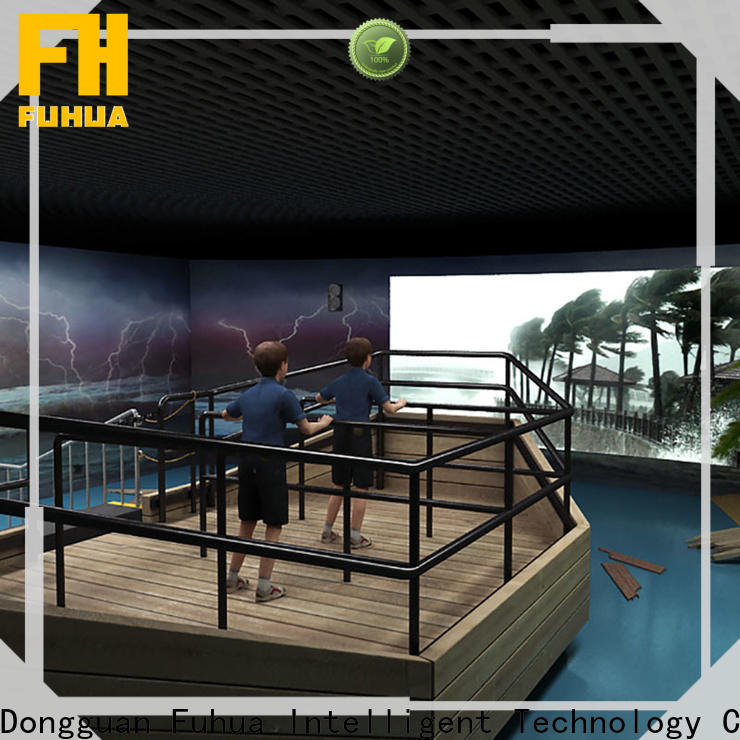 Fuhua popular typhoon simulator engines for school