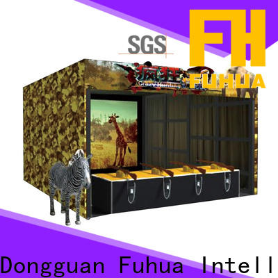 Fuhua high performance laser shooting simulator for sale for theme park