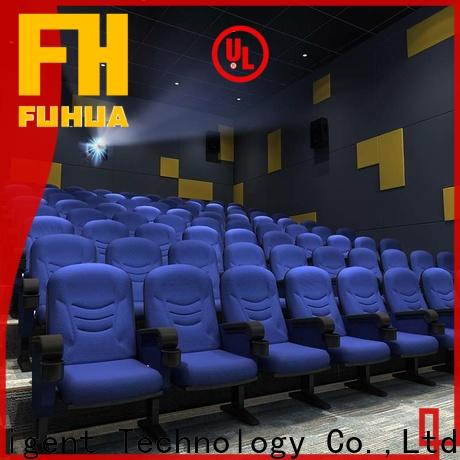 Fuhua stable cinema 3d system for sale for theme park