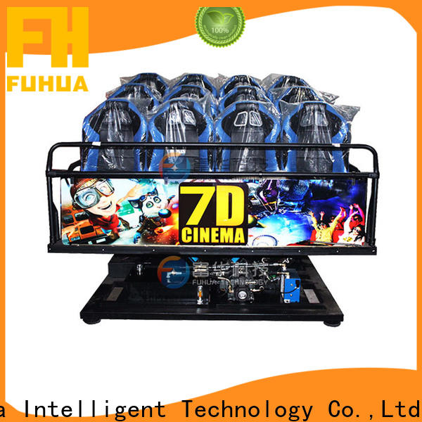 Interactive cinema 7d fuhua display system for museum