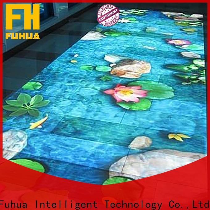Fuhua game interactive projection Enhance confidence for school