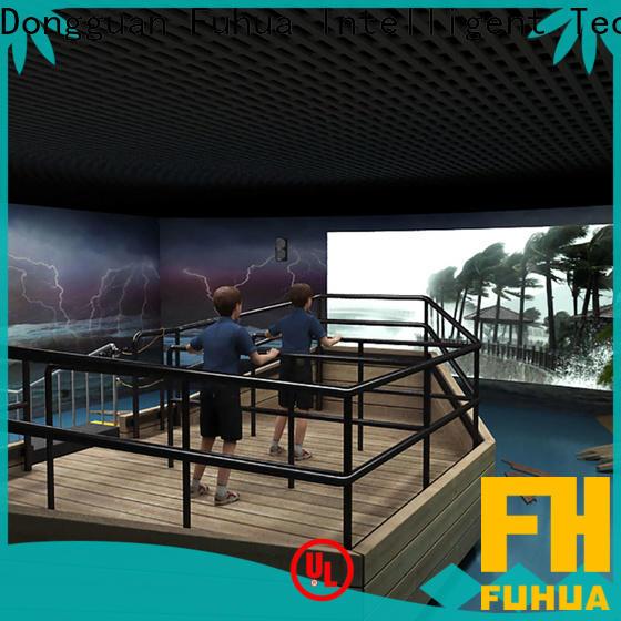 Fuhua high performance typhoon simulator for sale for school