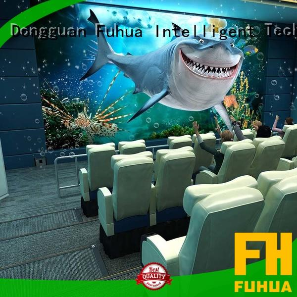 Fuhua theater 4d 5d cinema different experience for cinema