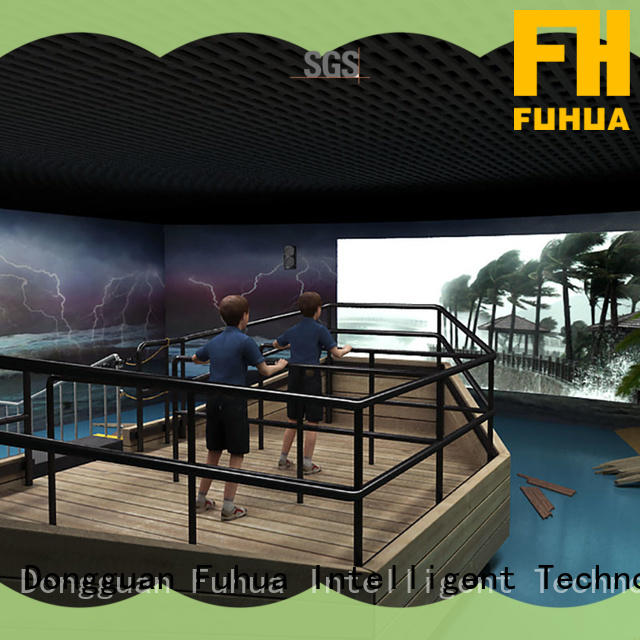 popular typhoon simulator experience manufacture for scenic area