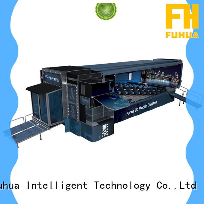 Fuhua Customized mobile cinema air conditioning system control system for family entertainment centres