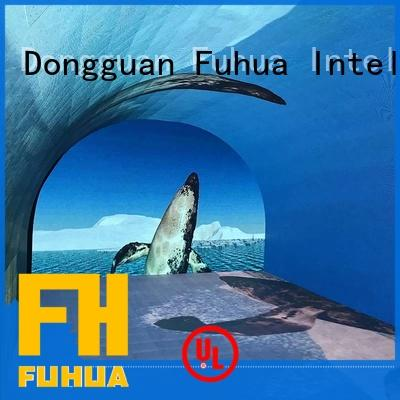 Fuhua Attractive interactive led wall for kids clubs