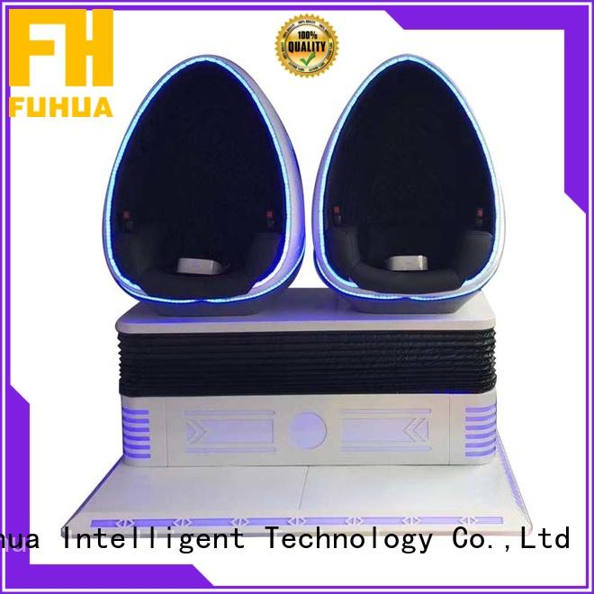 Fuhua theme 9d virtual reality simulator for sale Realistic Effect for park
