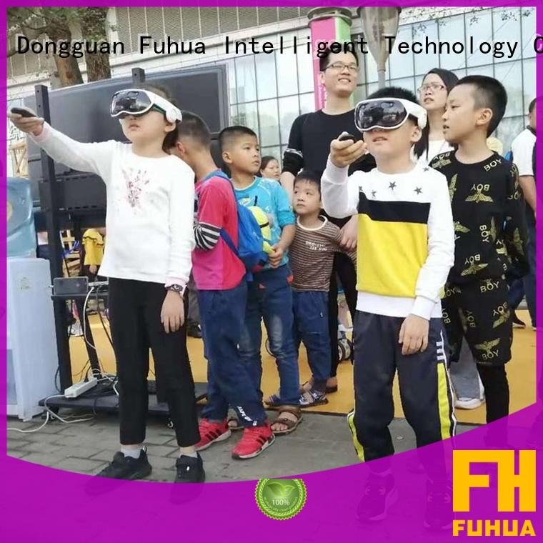 Fuhua 9d vr multiplayer games for education for tourist attractions