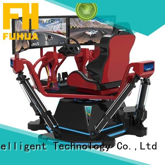 Fuhua arcade vr racing simulator for sale for park