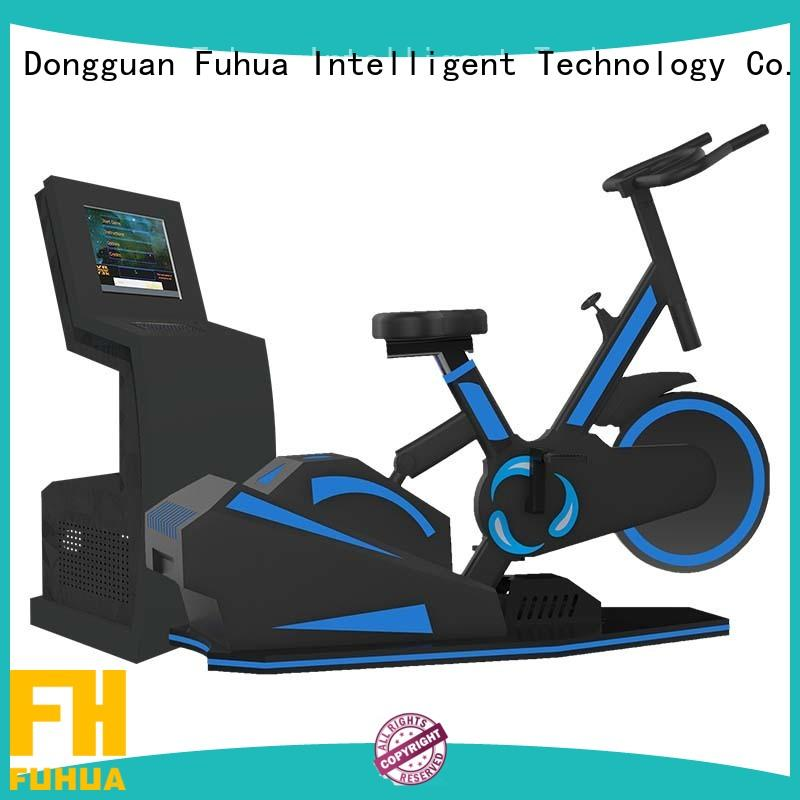 Fuhua cool bike vr realistic experience for school