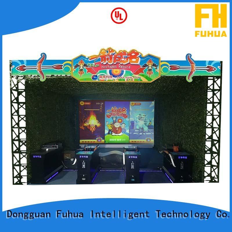 Fuhua 360 horse riding simulator for sale for amusement