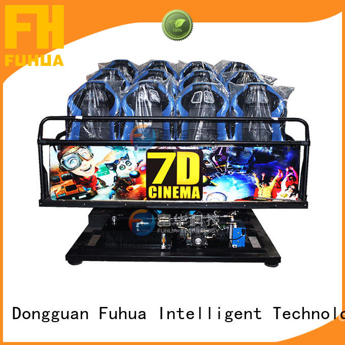 Fuhua dof 7d simulator cinema special effects for cinemas