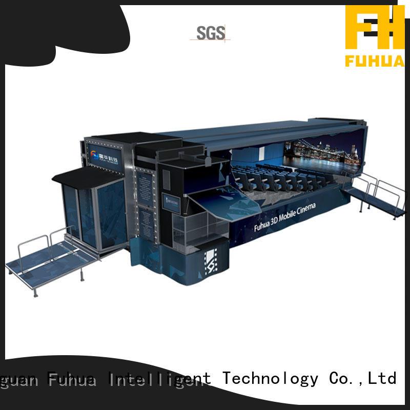 Fuhua mobile cinema truck theatre for museum