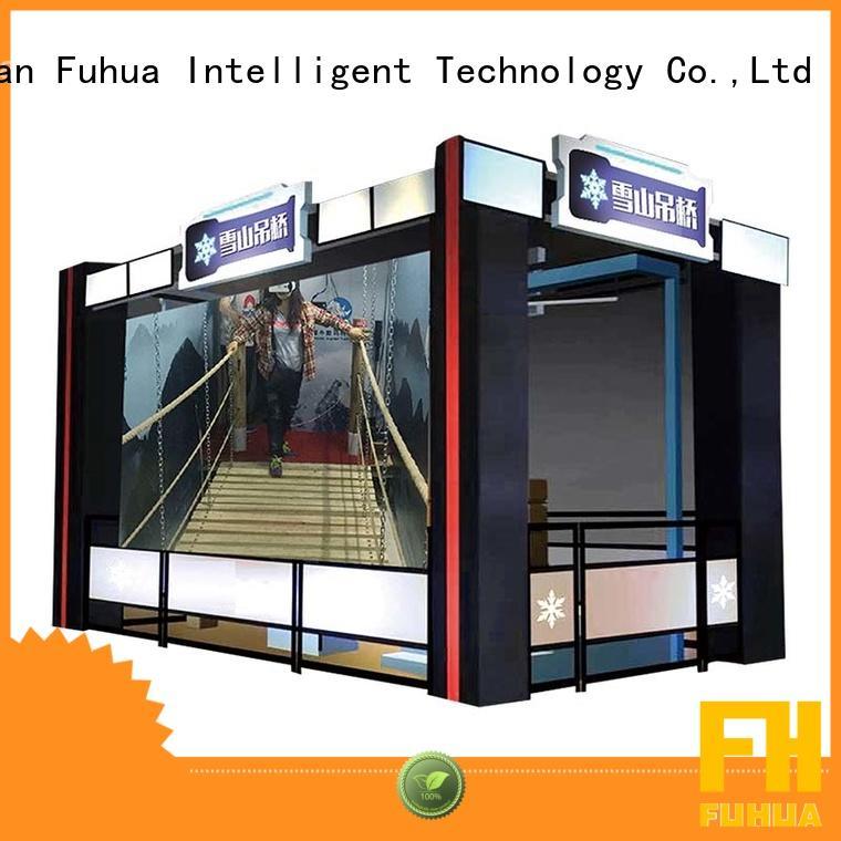 bridge virtual reality bridge Special design for tourist attractions Fuhua