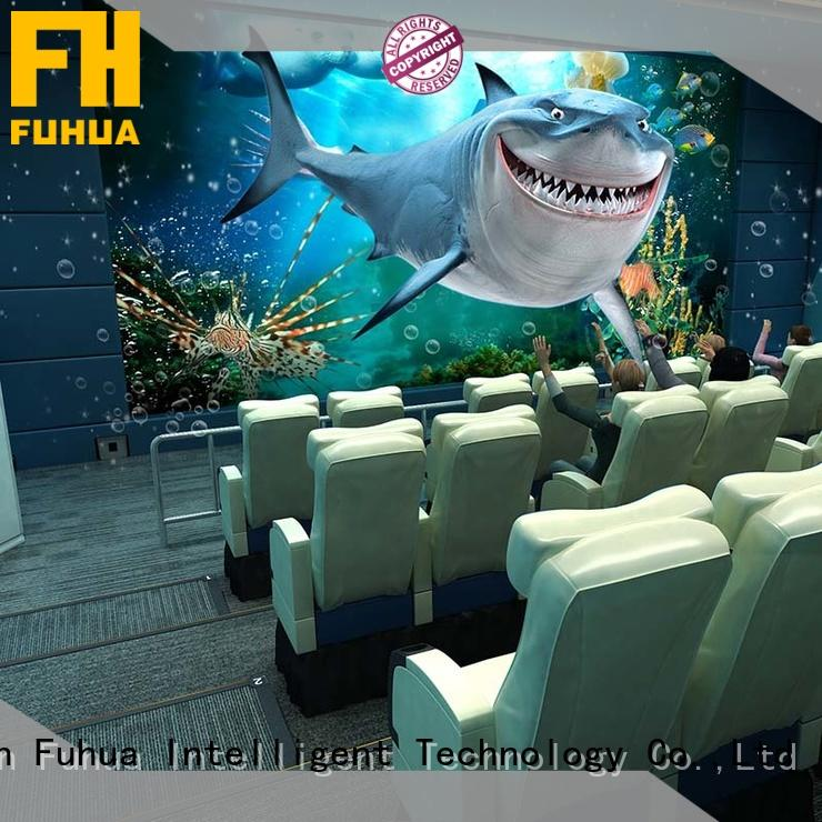 Fuhua cool 5d cinema for kids for theme park