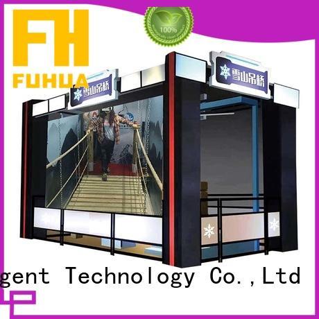 Fuhua vr virtual reality bridge with the real environment for aquariums