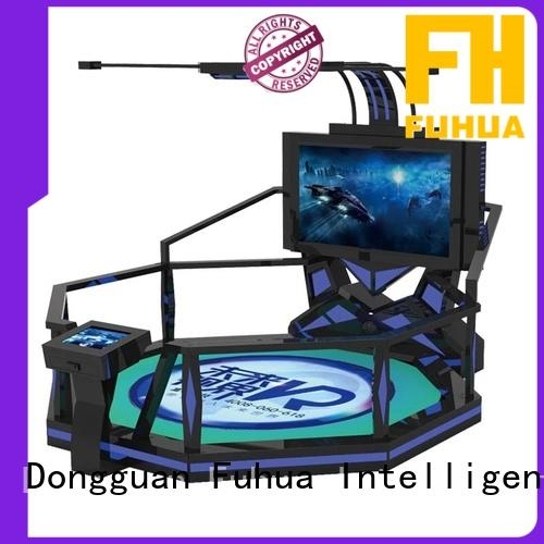 reality shooting simulator flight for cinema Fuhua