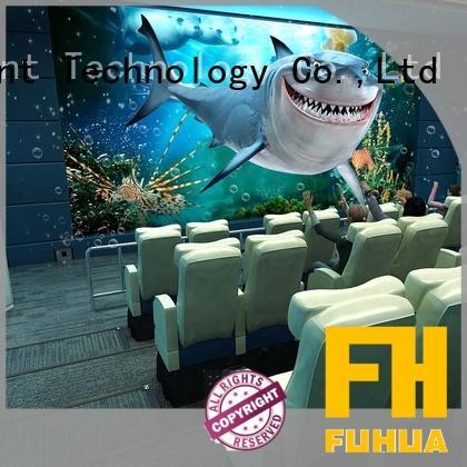 commercial 5d theatre different experience Amusement Park Fuhua