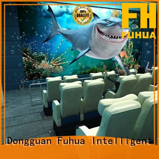 high quality 4dmax cinema different experience for amusement park Fuhua