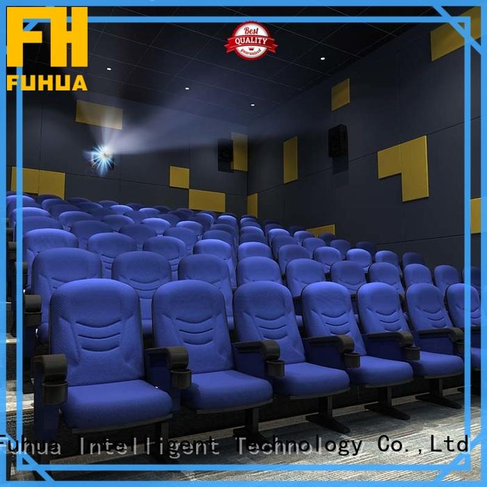 Fuhua equipment 3d movie theater Chinese for cinema
