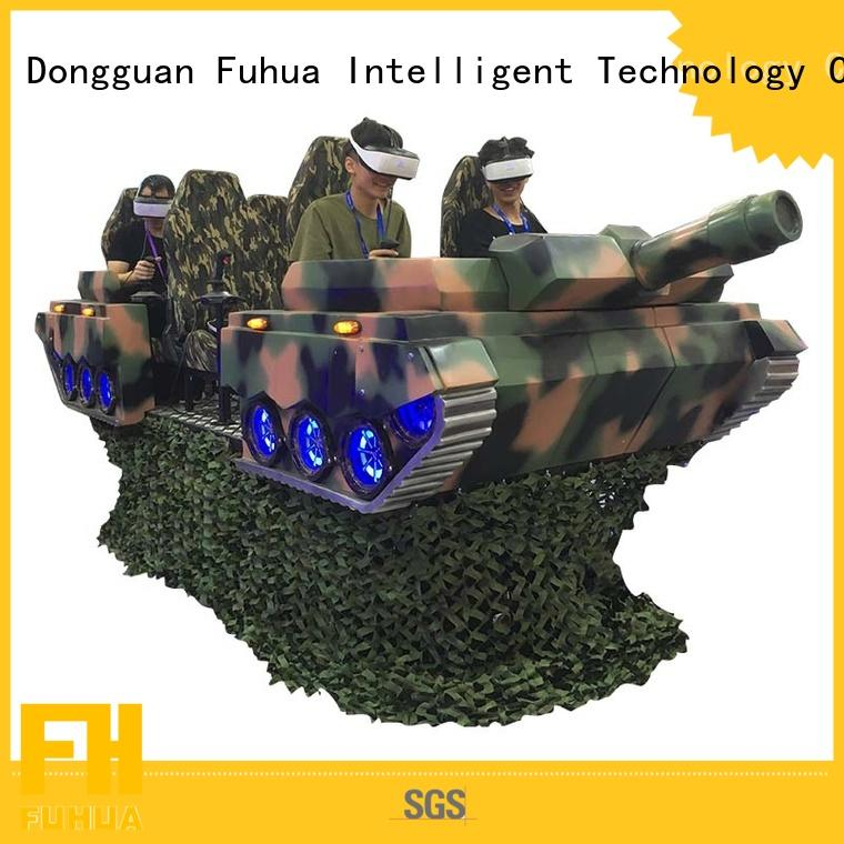 Fuhua Interactive 9d cinema supply for amusement