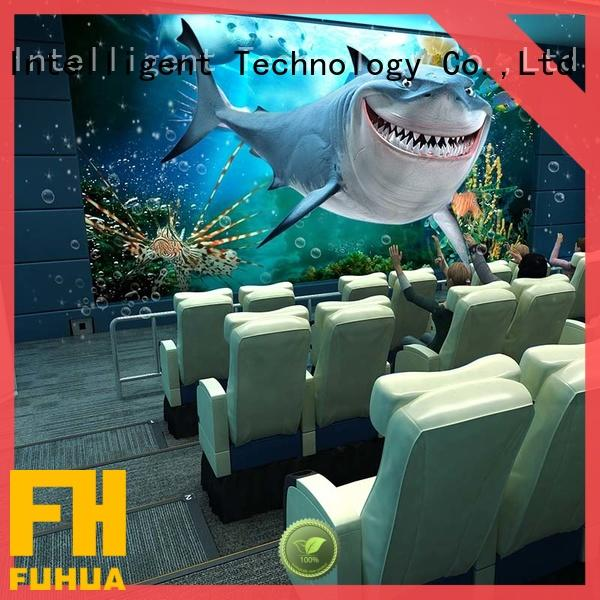 Fuhua Interactive 5d cinema supply for cinema