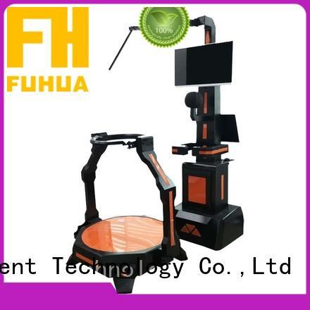 Fuhua players laser shot simulator dynamic control technology for cinema