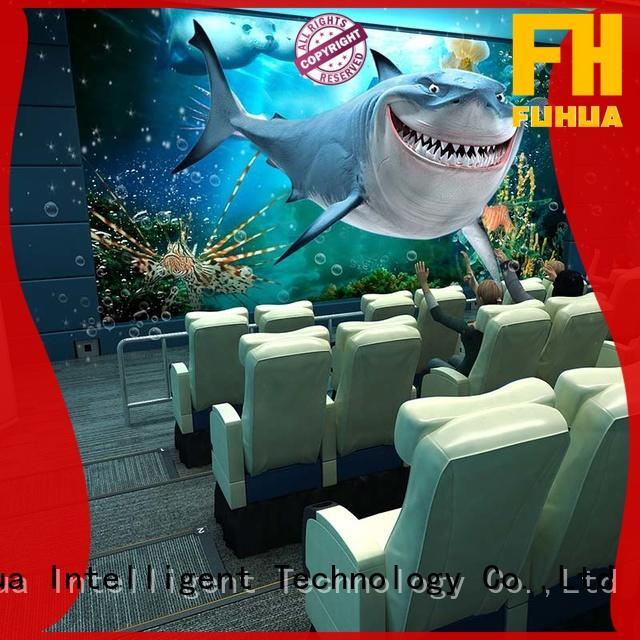 Fuhua 3D surround sound 5d cinema for sale for amusement park