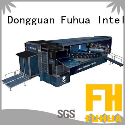 Fuhua xd mobile theater dynamic seats for theme parks