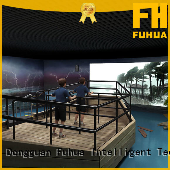 Fuhua high performance voyage simulator engines for scenic area