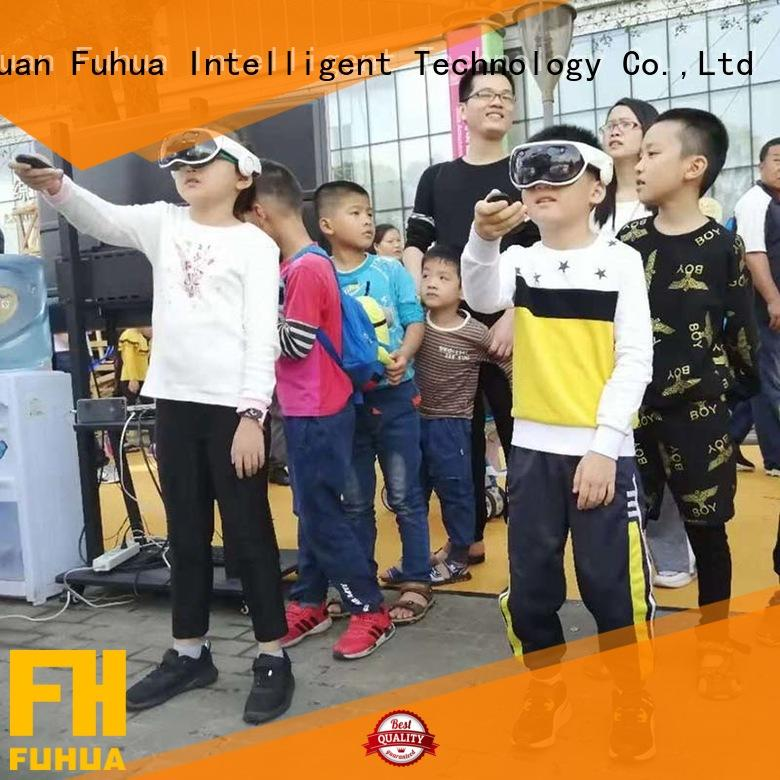 Fuhua Newest Mixed Reality 360 9D VR Multiplayer Interactive Game