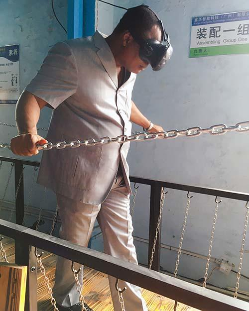 virtual reality bridge sports for aquariums Fuhua-3