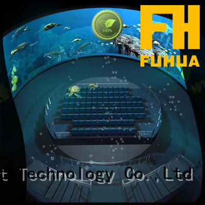 Fuhua High-tech dome cinema China for commercial amusement