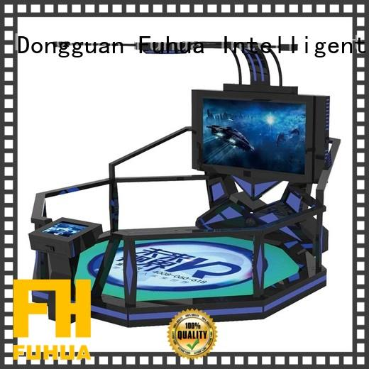 Fuhua steam shooting simulator for home dynamic control technology for theme park