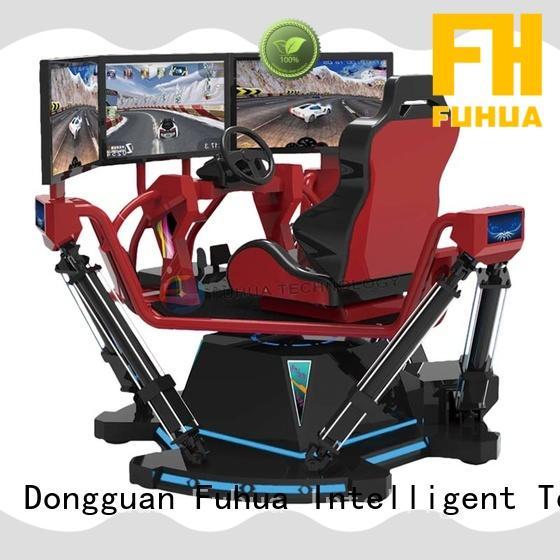 Fuhua arcade vr racing simulator engines for park