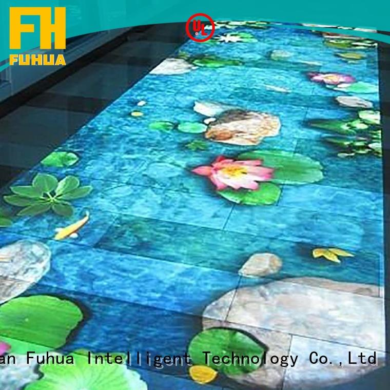Fuhua relaxing interactive projection for sale for mall